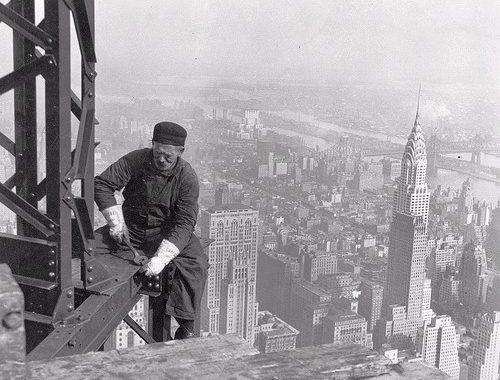 Foto de la semana: Trabajos en altura