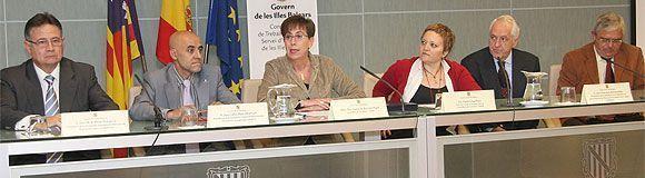 Firma del Convenio entre el Gobierno Balear y las Asociaciones Nacionales de Servicios de Prevención