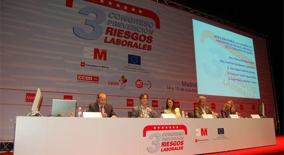 Comienza el 3º Congreso de Prevención de la Comunidad de Madrid