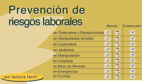 Feaps madrid ha editado el noveno manual de prevenci n de for Riesgos laborales en oficinas administrativas