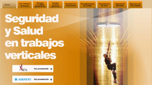 Asepeyo: Jornada sobre Seguridad y salud en los trabajos verticales Madrid 14 de diciembre