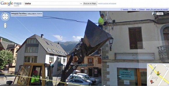 Con las manos en la masa: Actos inseguros en Street View