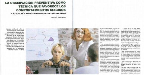 La observación preventiva favorece los comportamientos seguros