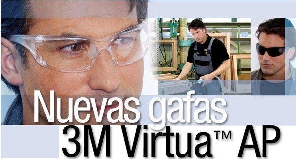 Protección Ocular: Gafas 3M Virtua AP
