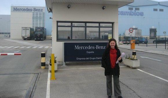 Mercedes-Benz España: La prevención de riesgos va sobre ruedas