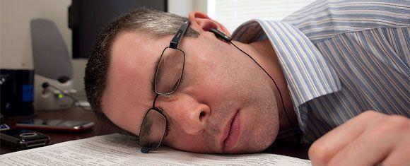 Si no quieres sorpresas, no te duermas en el trabajo