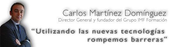 Entrevistamos a Carlos Martínez, Director General del Grupo IMF Formación