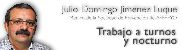 Trabajo a turnos y nocturno: 3 - Patología asociada a la turnicidad