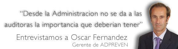 Entrevista a Oscar Fernandez de ADPREVEN