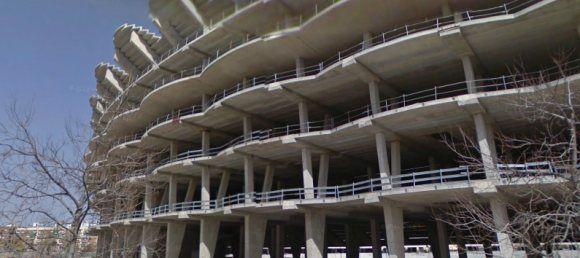 El fiscal pide que se archive el accidente del nuevo Mestalla