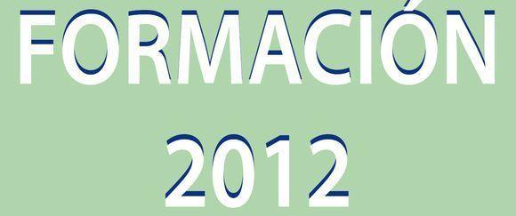 Catálogo de formación 2012 del INSHT