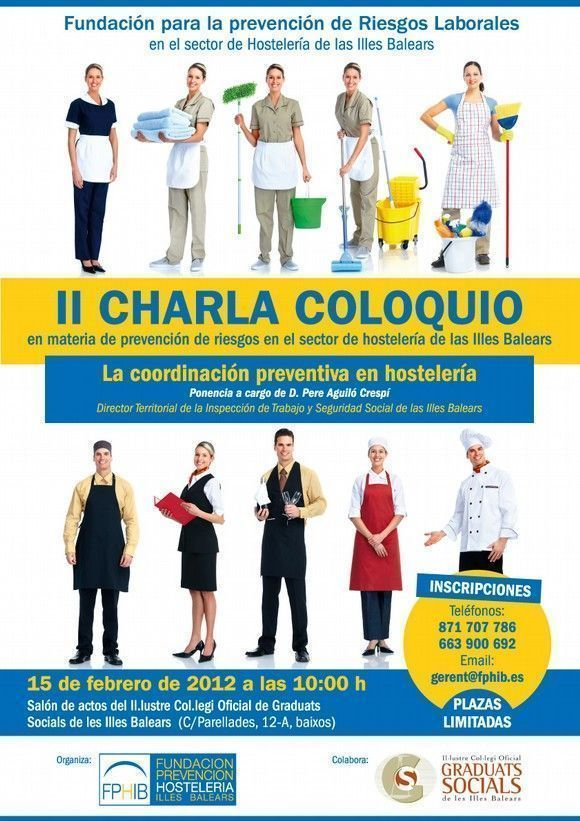 II Charla Coloquio: La coordinación preventiva en hostelería
