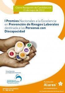 Premios Nacionales a la Excelencia en Prevención de Riesgos Laborales destinados a las personas con discapacidad