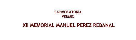 XII Memorial Manuel Pérez Rebanal