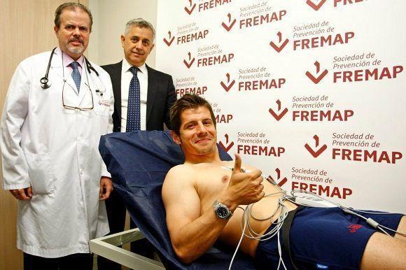 Sociedad de Prevención de Fremap supervisa la salud de los futbolistas