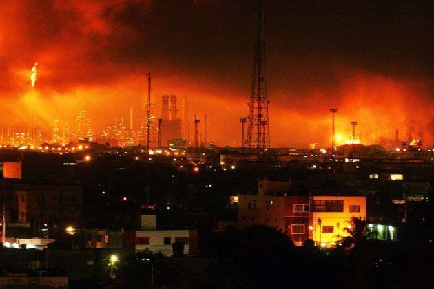 Al menos 39 muertos y 80 heridos tras una explosión en una refinería al norte de Venezuela