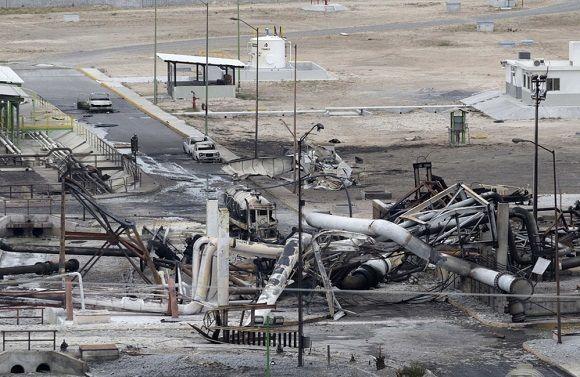 26 muertos por incendio en planta de gas de norte de México