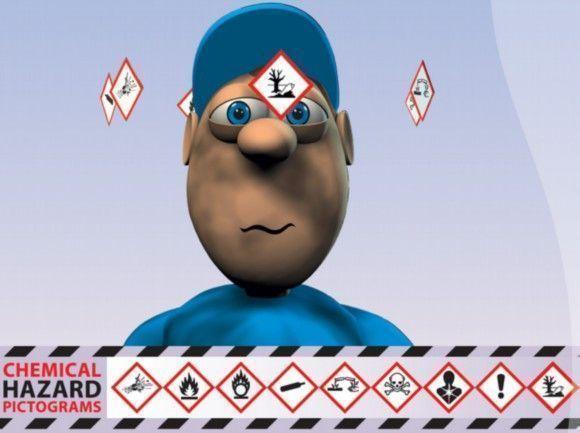 ¡Peligro: productos químicos! Un nuevo kit en línea alerta a trabajadores y empresarios sobre los nuevos pictogramas de peligro