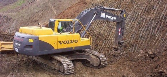 Pautas de trabajo seguro con retroexcavadoras en el sector forestal