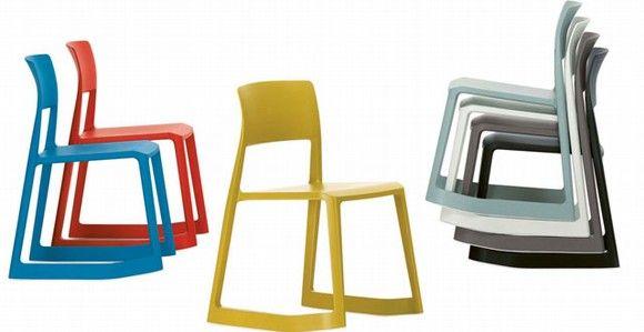 La silla que se inclina hacia adelante ¿ergonomía en casa?