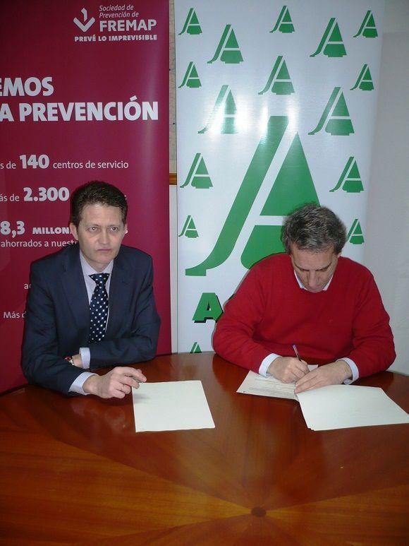 Prevención Fremap realizará la vigilancia de la salud de los miembros de ASAJA en Ciudad Real