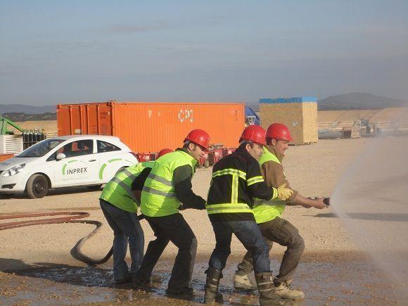 Simulacro de Emergencia y Evacuación en la Planta Termosolar Olivenza