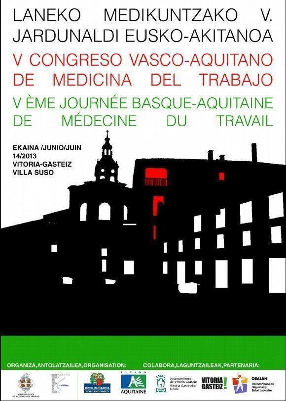 V Congreso Vasco-Aquitano de Medicina del Trabajo