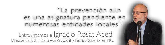 La prevención aún es una asignatura pendiente en numerosas entidades locales