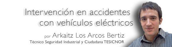 Intervención en accidentes con vehículos eléctricos