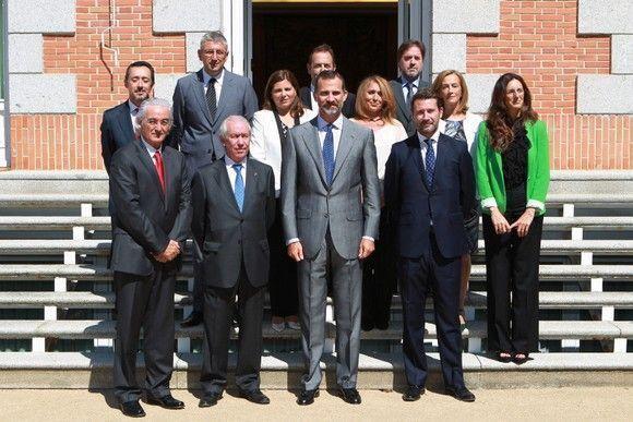 Representantes del congreso internacional ORP fueron recibidos por su Alteza Real el Príncipe de Asturias