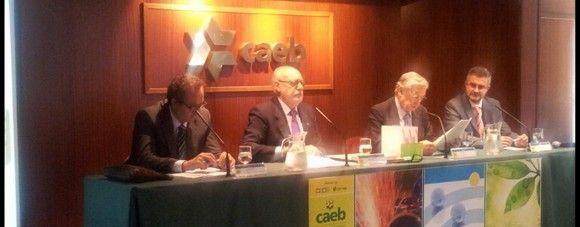 Ganadores de los premios CAEB 2013 a las Buenas Prácticas Empresariales en Prevención de Riesgos Laborales