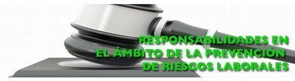 Curso: Responsabilidades en el ámbito de la prevención de riesgos laborales