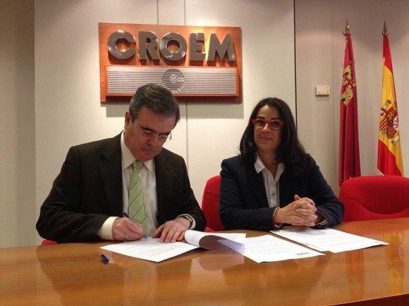 CROEM y AMIQ acuerdan asesoramiento gratuito en prevención de riesgos laborales para las empresas químicas de la Región