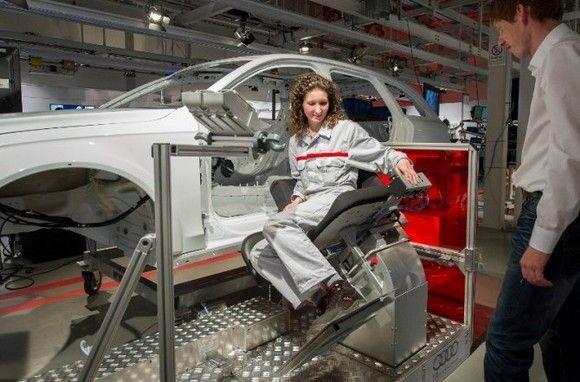 Audi lanza un plan para mejorar la ergonomía de sus centros de trabajo