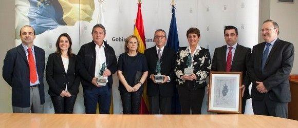 Entrega de los premios del Icasel a la prevención de riesgos laborales
