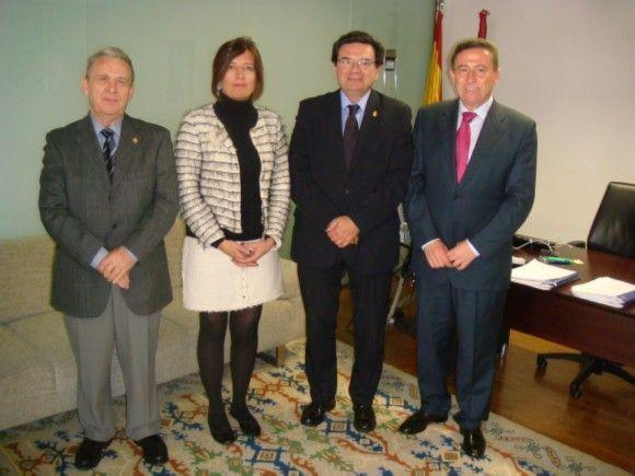 ARQUICMA y el CGPSST se reúnen con la consejería de presidencia del gobierno de castilla la mancha