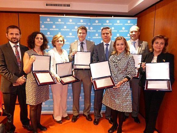 Acto de reconocimiento a las empresas madrileñas finalistas de los Premios Asepeyo a las mejores prácticas preventivas