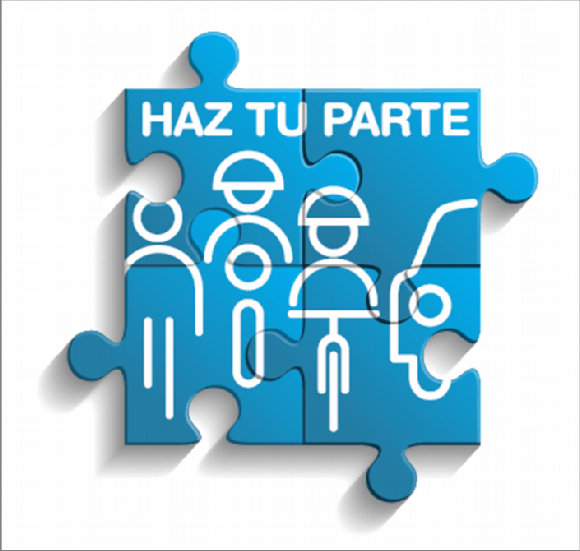 """""""Haz tu parte"""""""", eslogan de la nueva campaña divulgativa de la DGT"""