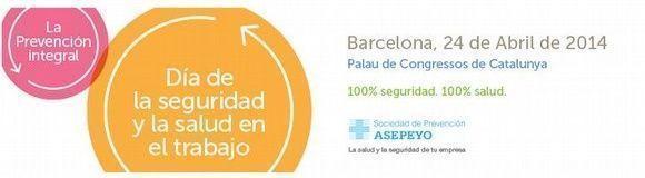 El 24 de abril la S.P. Asepeyo celebra el Día Mundial de Seguridad y Salud en el Trabajo #28PRL