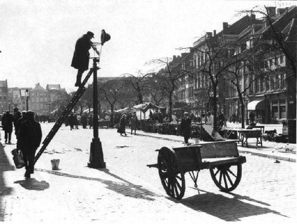 Farolero en Maastricht fecha desconocida visto en Flickr