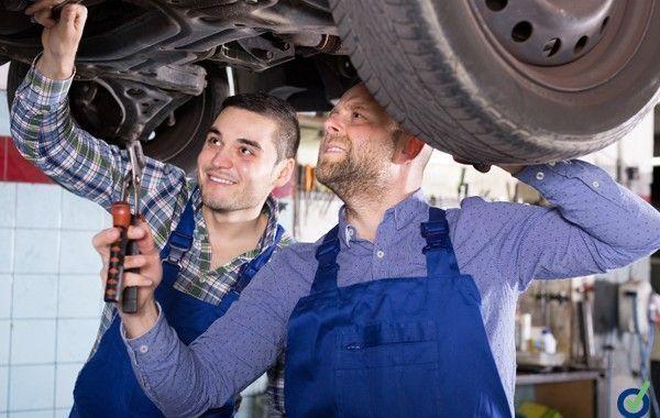 Prevención de riesgos laborales en el taller de carrocería y pintura