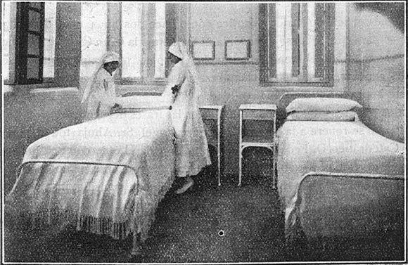 1929 Jaen. Hospital de la cruz roja visto en Flickr