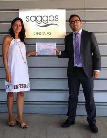 umivale reconoce el trabajo de SAGGAS  en prevención