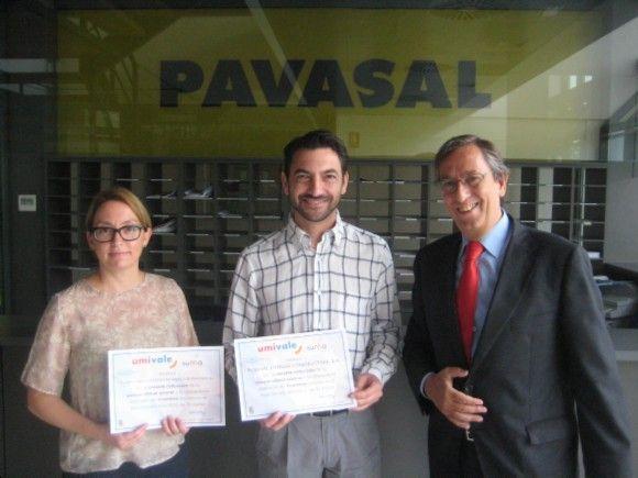 umivale reconoce el trabajo de Pavasal reduciendo su siniestralidad
