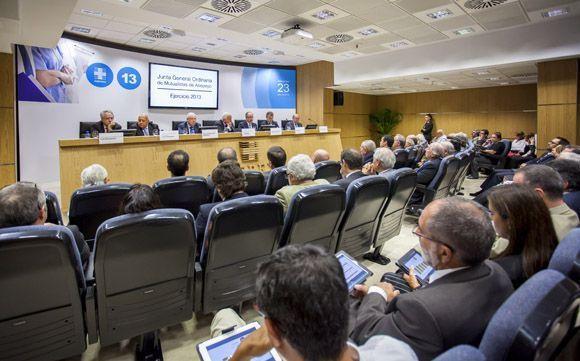 Asepeyo aporta 107,2 millones de euros a la Seguridad Social