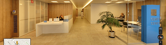 Google Street View entra en los centros  asistenciales de Asepeyo