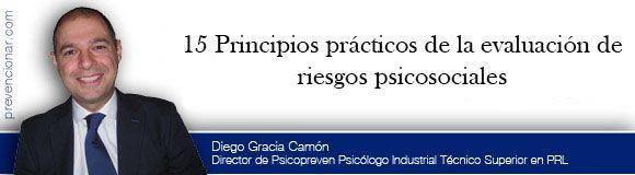 15 Principios prácticos de la evaluación de riesgos psicosociales