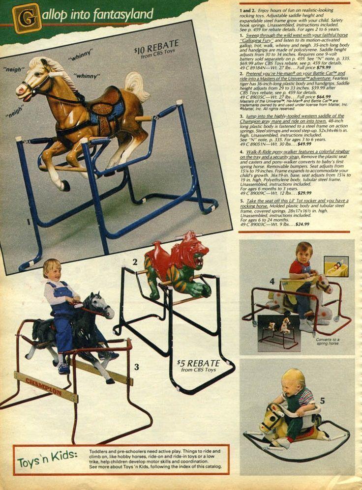 No parecía muy seguro subir a los niños a este caballo,sobre todo sin casco....