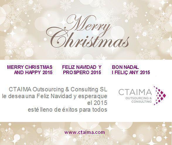 Ctaima les desea Feliz Navidad y Próspero 2015