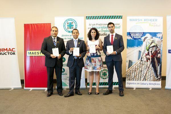 Lanzan el primer libro peruano sobre las normas de seguridad y salud en el trabajo